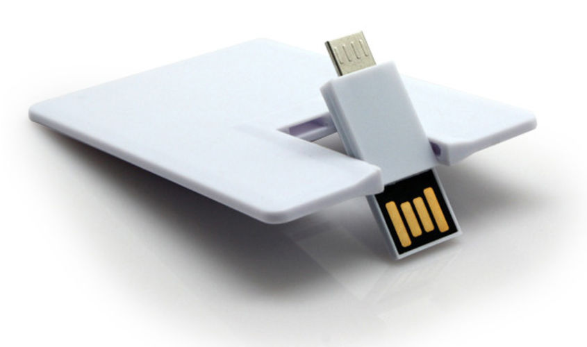 Флешка Визитка OTG USB Card под заказ