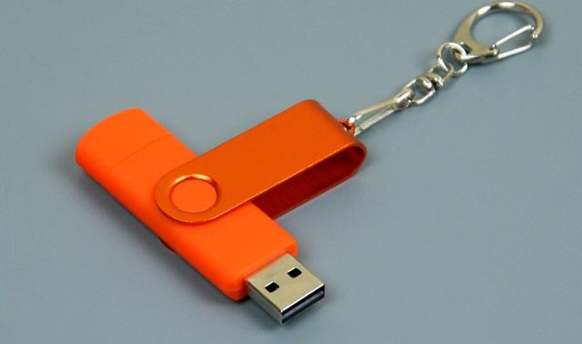 Купить OTG Флешку USB OTG Color Синего цвета