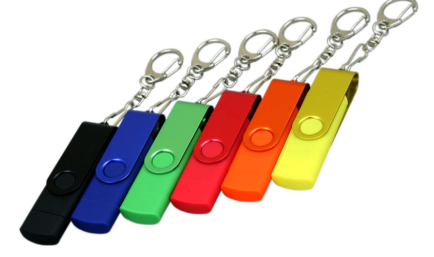 OTG Флешка USB OTG Color PL226 в наличии
