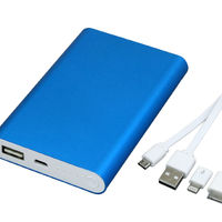 Зарядку Power Bank 8000 mAh синего цвета PB002 купить