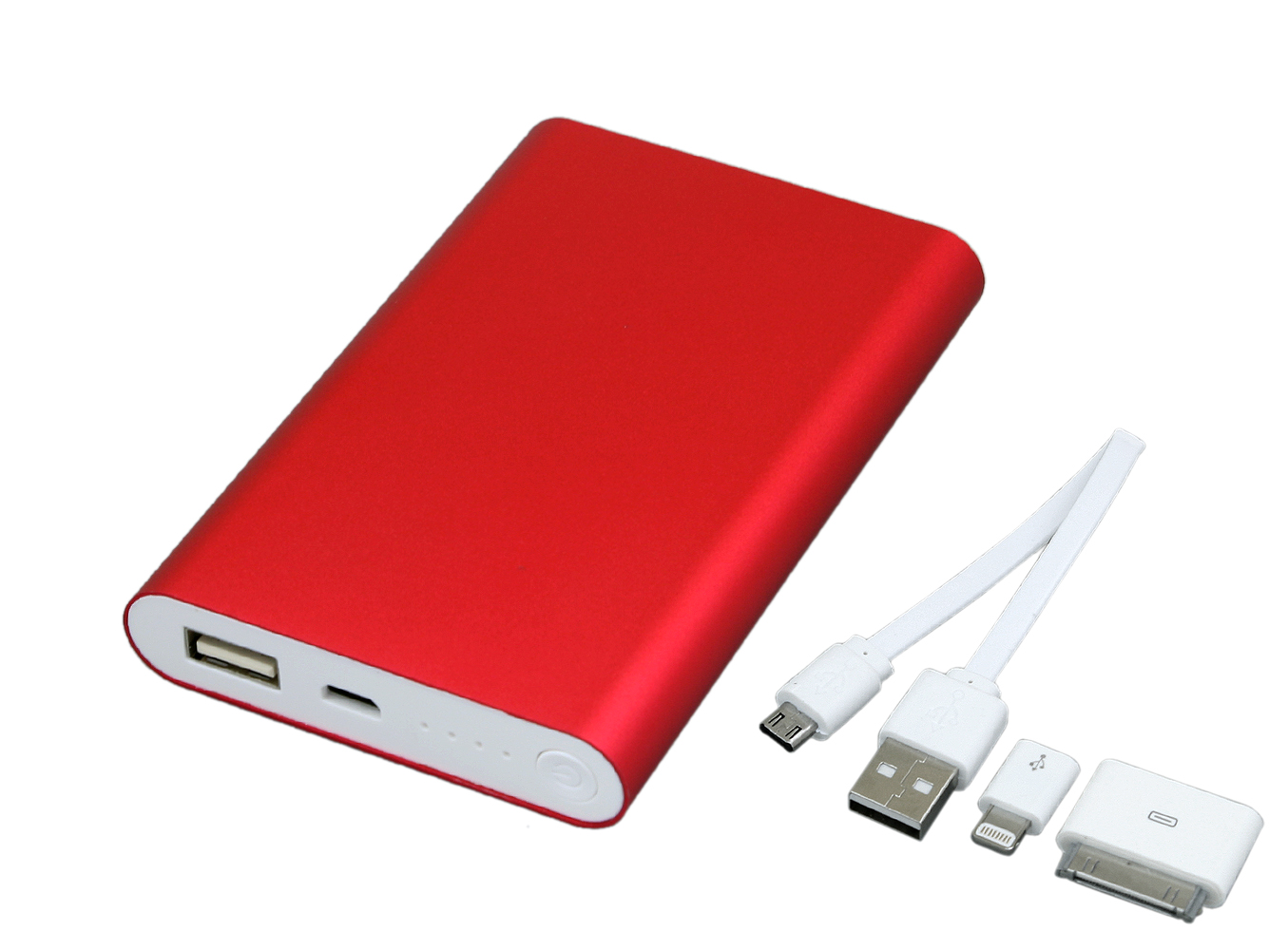 Зарядку Power Bank 8000 mAh красного цвета PB002 купить