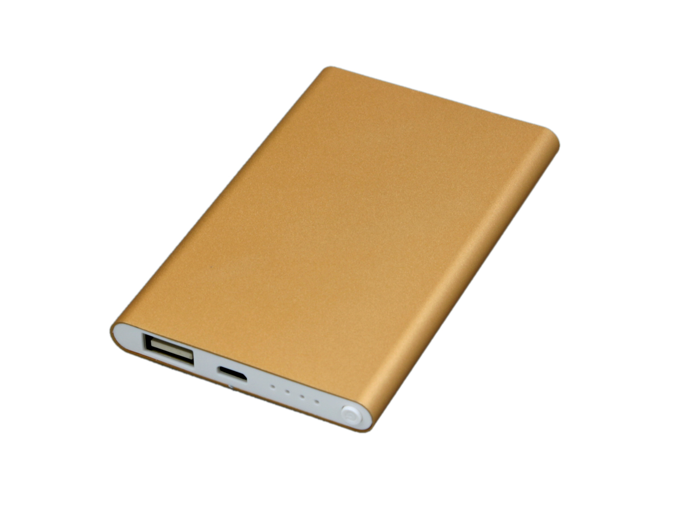 Power Bank 4000 mAh бронзовый PB001 оптом