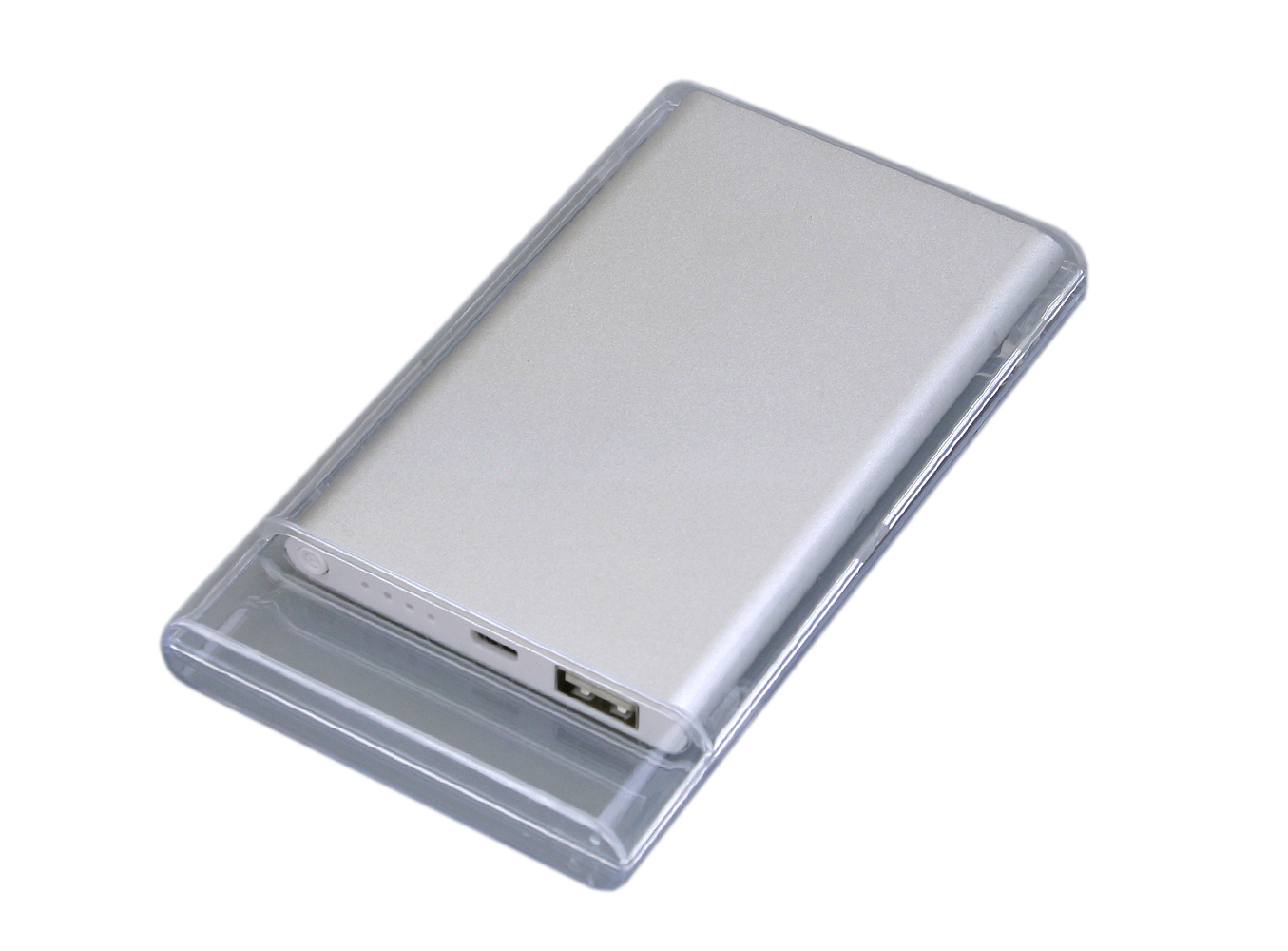 Купить Power Bank 4000 mAh серебристый PB001